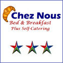Chez Nous Bed & Breakfast and Self Catering