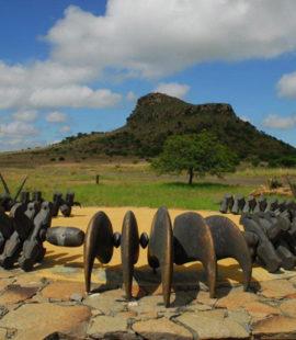 Zulu memorial Isandlwana